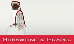 Italienische Weine, Dessertweine und Grappe