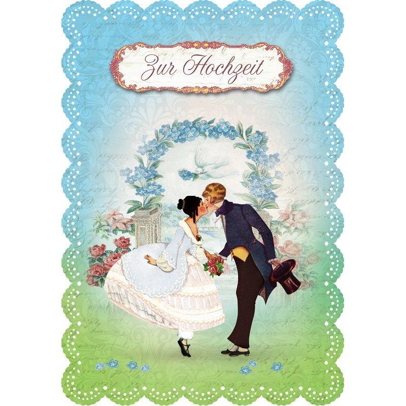 Gespaensterwald Grußkarte Romantique Zur Hochzeit - le mariage