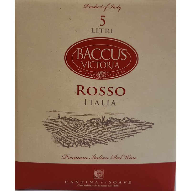 CANTINA DI SOAVE Baccus Rosso - Bag in the Box